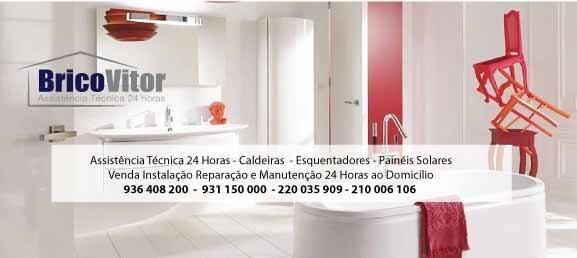 BricoVitor - empresa de assistência técnica caldeiras 24 horas - venda instalação reparação e manutenção